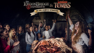 Combo Deal £21 - Entrance to The London Bridge Experience and London Tombs