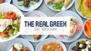 Star Deal - 2 Courses & Glass of Prosecco for £15 Per Person at The Real Greek