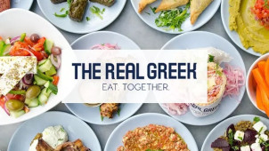 Lunch Menu Orders from £8.50 at The Real Greek