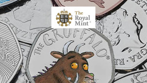 25% Off Special Edition Orders + Free Delivery at The Royal Mint - Including Paddington 2019!