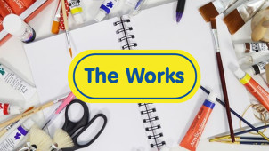 30% Off Orders Over £30 at The Works