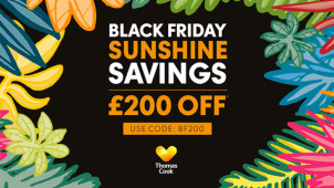 £200 Off Bookings Over £1,000 at Thomas Cook
