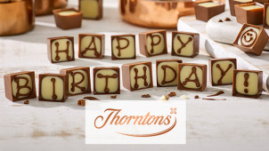 20% Off Orders at Thorntons