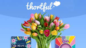 £5 Off with Friend Referrals at thortful