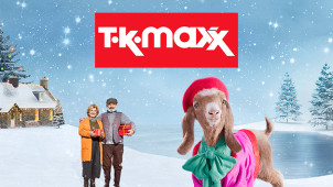Everyone Deserves to Feel Special This Year –  Up to 60% Less at TK Maxx