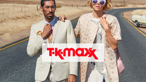 Up to 60% Less on New Arrivals at TK Maxx