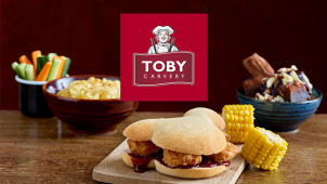 Kids Eat For a £1 at Toby Carvery