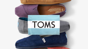 10% Off Next Order with Newsletter Sign-ups at TOMS