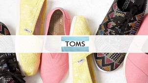10% Off Orders with Newsletter Sign-Ups at TOMS