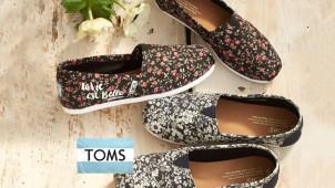 Shop nu met tot 50% Korting in de Lente Sale bij TOMS