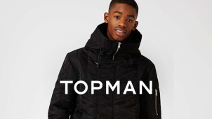10% Off First Orders at TOPMAN