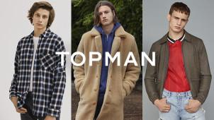 20% Off Orders at TOPMAN