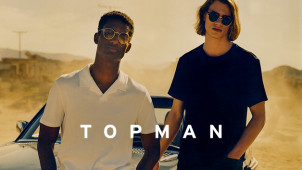 Free Delivery with Orders at Topman