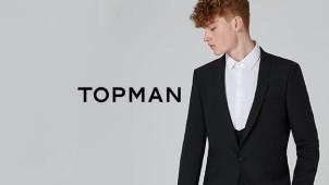 -15% de réduction en s'inscrivant à la newsletter chez Topman