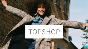 Find 50% Off in the Black Friday Sale Plus Free Delivery at Topshop