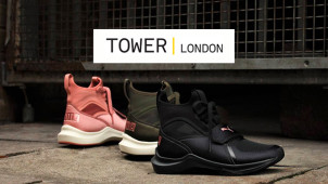Find 60% Off Black Friday at TOWER London Footwear