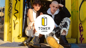 15% Off Orders Over £100 at TOWER London Footwear