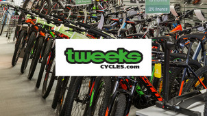 £5 Off First Orders Over £100 with Newsletter Sign Ups at Tweeks Cycles