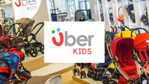£5 Off Orders Over £100 at Uber Kids