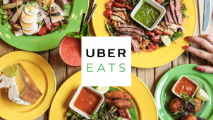 £5 Off First Two Orders at UberEATS