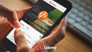 20 minutes par jour pendant 20 jours: Les cours en ligne Udemy sont à partir de 9,99 €