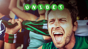 £40 Money-Back Offer with Your First Bet + £10 Casino Bonus at Unibet