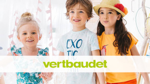 25% Off Plus Free Delivery on First Orders at Vertbaudet