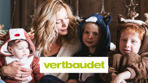 25% Off First Orders Plus Free Delivery for New Customers at Vertbaudet