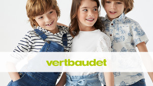 New Customers Save 20% on Full Priced Items at Vertbaudet
