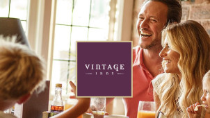 2 Course Fixed Price Lunch from £10.95* at Vintage Inns