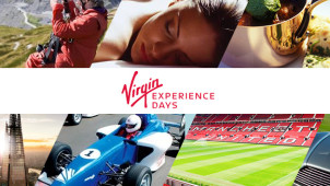 £5 Gift Card with All Bookings at Virgin Experience Days