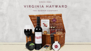 Free Standard Delivery at Virginia Hayward Hampers