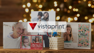 50% Off Calendars, Holiday Cards and 25% Off Photo Gifts at Vistaprint
