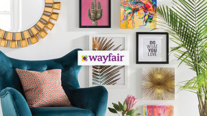 Up to 70% Off in the Cyber Monday Sale plus Free Delivery on Orders Over £40 at Wayfair