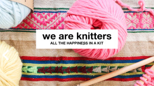 -15% de réduction sur l'ensemble de la boutique We are Knitters