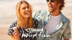 £5 Gift Card with Orders Over £50 at Weird Fish