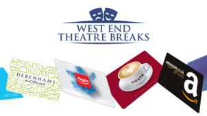 Free £20 Reward with Bookings Over £200 at West End Theatre Breaks