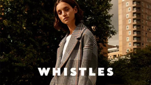 Shop the Sale with up to 50% Off Orders at Whistles