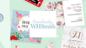 10% Off Personalised Stationery Orders at WHSmith