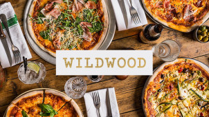25% Off Food at Selected Restaurants at Wildwood