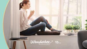 Parrainage   Profitez de 15€ en bon Wonderbox !