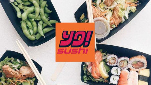 50% Off Food (Pre-Book Your Table Now) at YO! Sushi