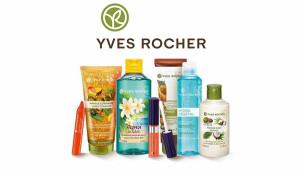 -40% de remise sur plus de 200 produits + frais d'envois offerts dès 10€ chez Yves Rocher