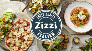 Lunch Set Menu from £10.95 at Zizzi