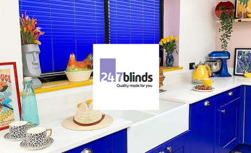 3 Year Guarantee on Orders at 247 Blinds