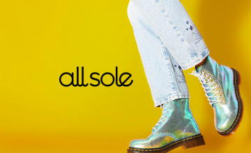 30% Discount on Orders Over £200 at allsole.com