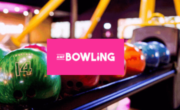 Don't Miss Student One Game Deal from Only £3.50 at AMF Bowling