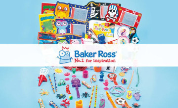 Save up to 60% Off in the Clearance at Baker Ross