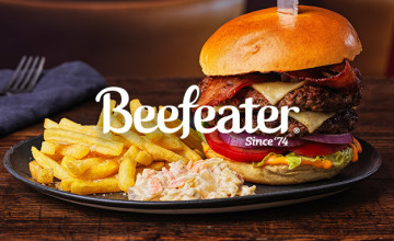 25% Off First Orders at Beefeater | Newsletter Sign-up Discount 💸