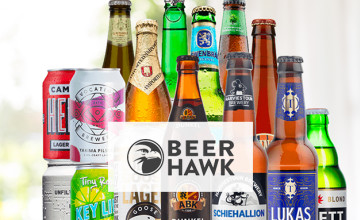 Free £5 Voucher with Orders Over £100 at Beer Hawk